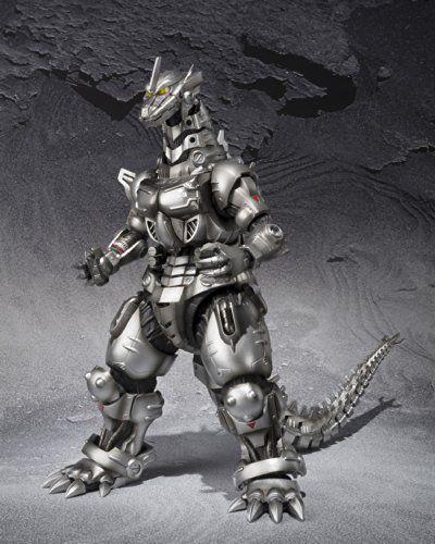 Amazon | S.H.MonsterArts ゴジラ×モスラ×メカゴジラ 東京SOS 3式機龍 (重武装型/高機動型) 全高約15.5cm ABS&PVC製 フィギュア | バンダイ 通販