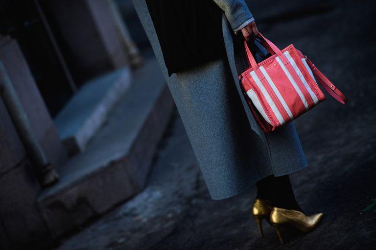 Streetstyle на Неделе моды в Осло