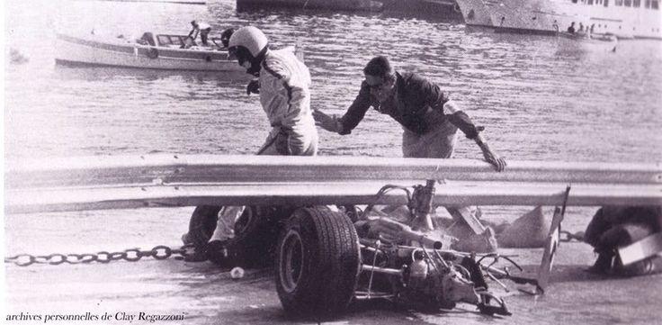 Helmuth Koinigg Death >> [OT] Clay Regazzoni escaping from his serious F3 crash at Monaco, 1968. : formula1
