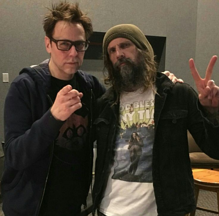 James Gunn And Zombie Rob Zombie James Gunn Sheri Moon Zombie