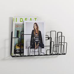 les 25 meilleures id es de la cat gorie porte revue mural sur pinterest paroi porte revues. Black Bedroom Furniture Sets. Home Design Ideas
