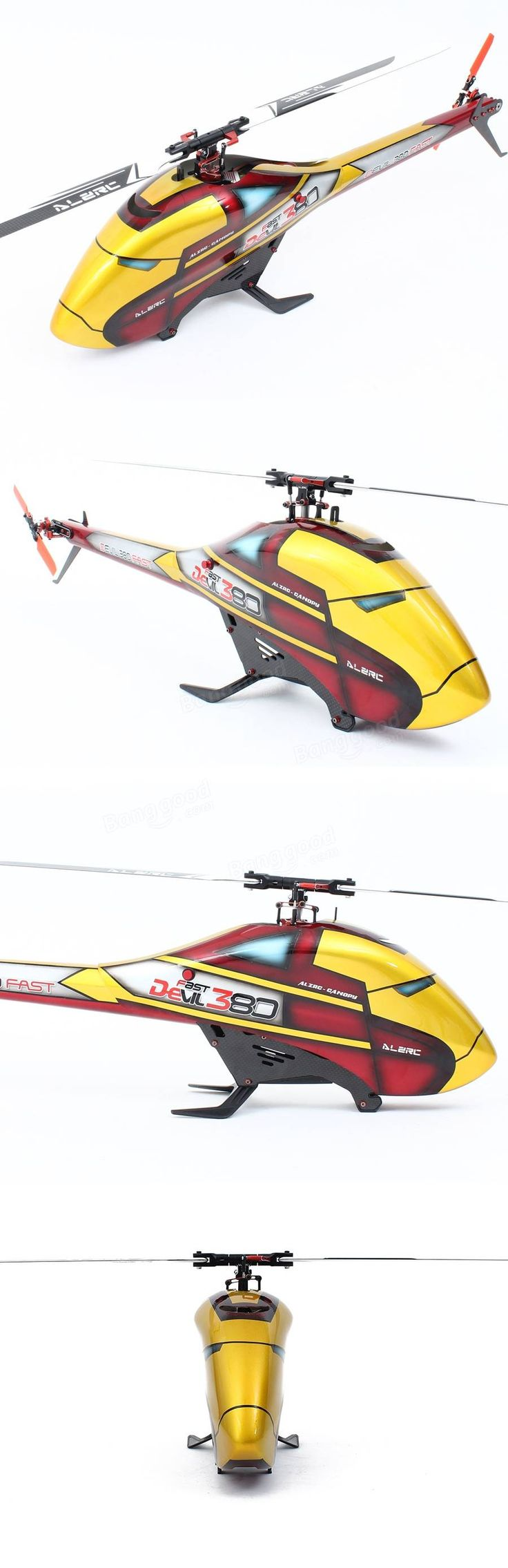 ALZRC Devil 380 FAST RC Helicopter Standard Combo Sale - Banggood.com