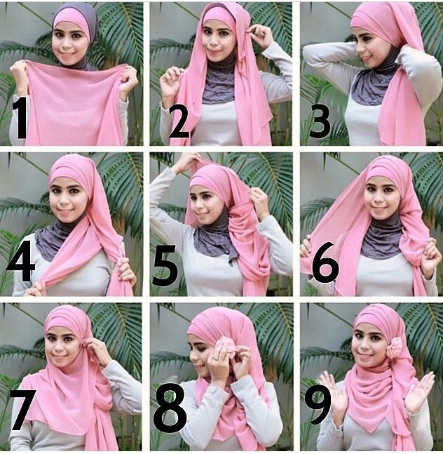 #hijab #shawl #tutorial #stepbystep