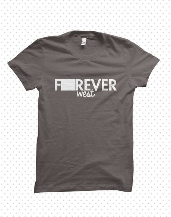 Forever Wyoming madetoorder tshirt by HandmadeEscapade on Etsy, $16.00