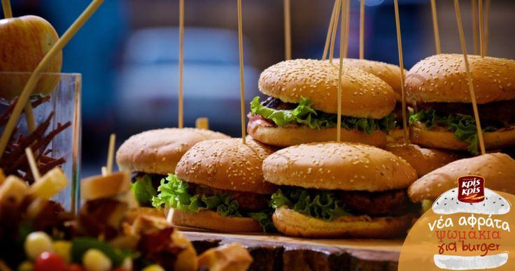 Όσο πιο μεγάλη η παρέα, τόσο πιο πολλά τα Κρις Κρις burger!