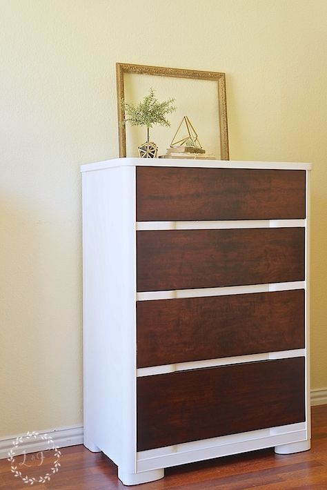 Modern Chest of Drawers Makeover