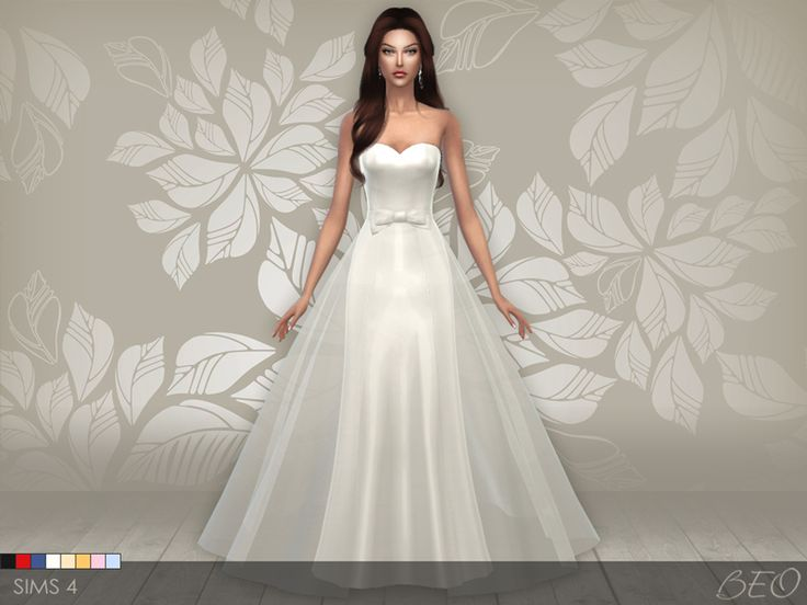 18 Best Sims 4 Wedding Dresses Images On Pinterest