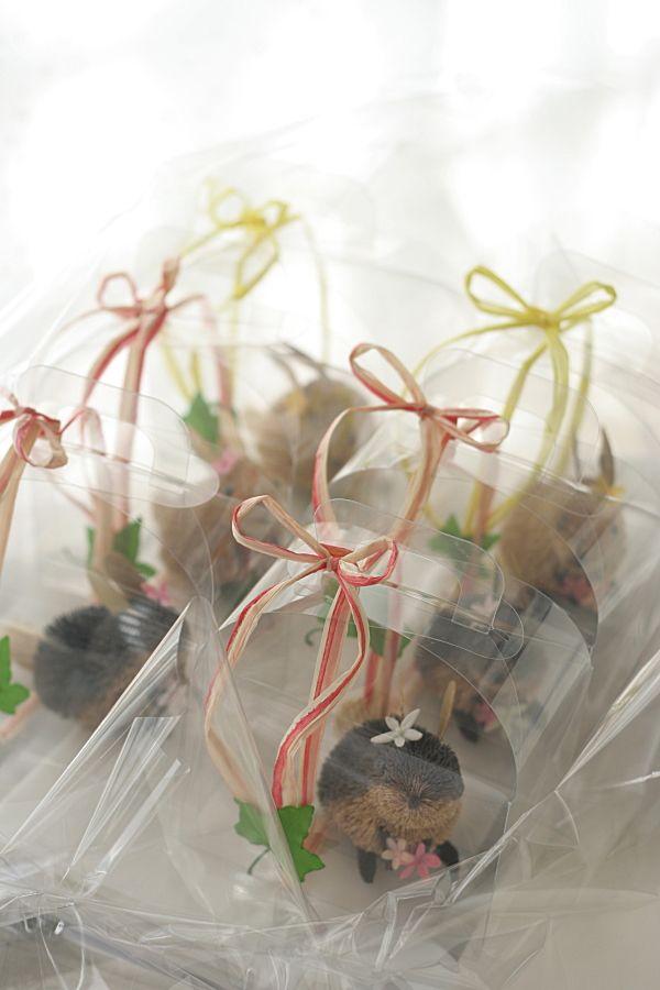 ウサギ@席次表 出席してくれるお子様たちへのプレゼント  : 一会 ウエディングの花