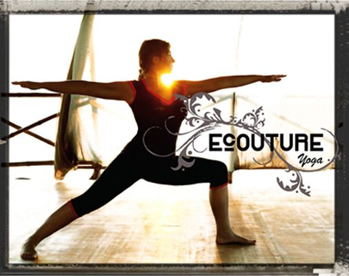 Ecouture yoga line ॐ  Organic yoga clothes with attitude!
