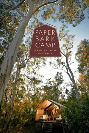 This is us! Paperbark Camp is an advanced Eco-Accredited peaceful bush retreat in beautiful Jervis Bay.