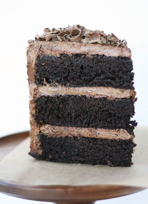 Gluten-Free American Mud Cake with Triple Chocolate Frosting   Cake Paper Party  You'd never know it's gluten-free! Yay, Summer you have come up with a recipe that will delight all my gluten-free friends