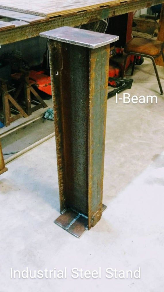 Iron Steel I Beam Stand Column Perch In 2020 Iron Steel Beams I Beam