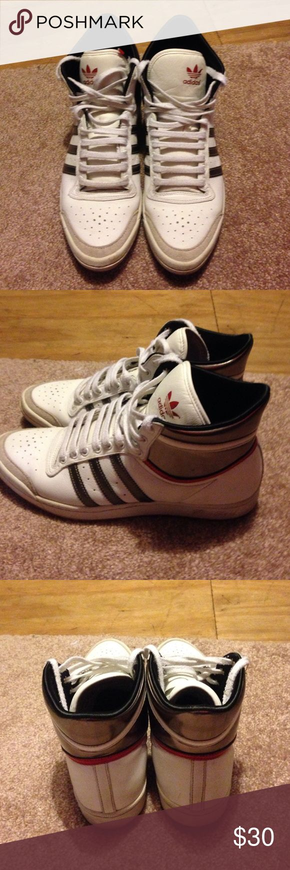 Adidas tennis shoes. In good condition . Adidas Sleek series tennis shoe. Size 8. Adidas Shoes Sneakers