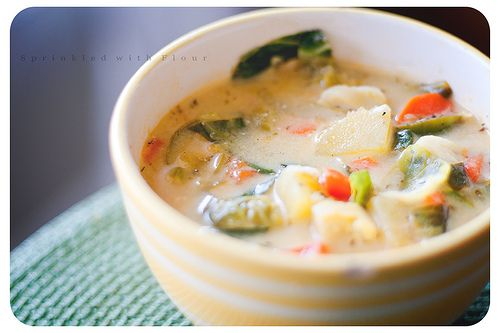 winter minestrone with swiss chard and sausage swiss chard swiss chard ...