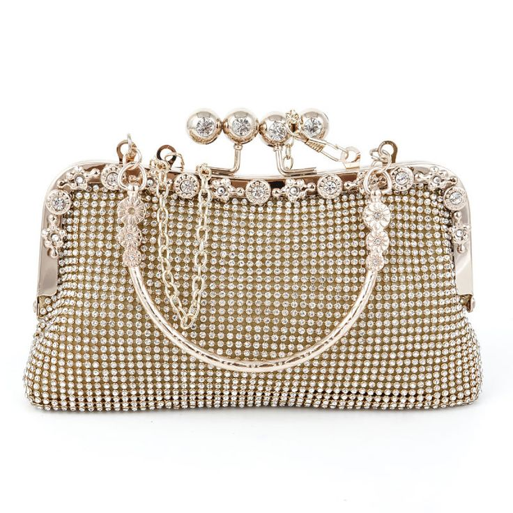 Abshoo Women Evening Clutch Bags Crystal Flower Diamond Party Clutches Day  Clutches