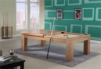Mesa de pool y comedor Tokio Leo | PoolChile, Somos la tienda de mesas de pool, tacos y articulos de pool.