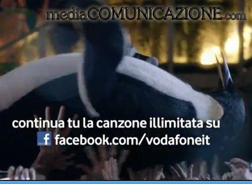 Vodafone personalizza Facebook se le fa cantare. ILLIMITATAMENTE http://mediacomunicazione.com/2013/02/18/vodafone-illimitatamente/