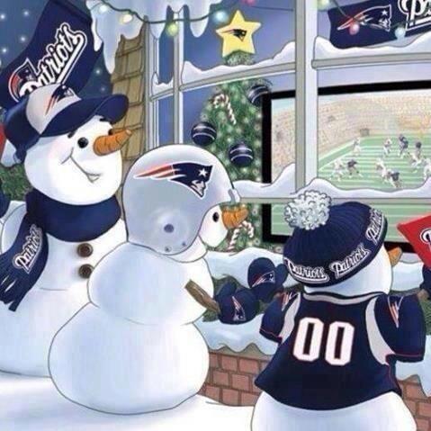 Even snowmen love the Patriots! - Boston  - New England Patriots