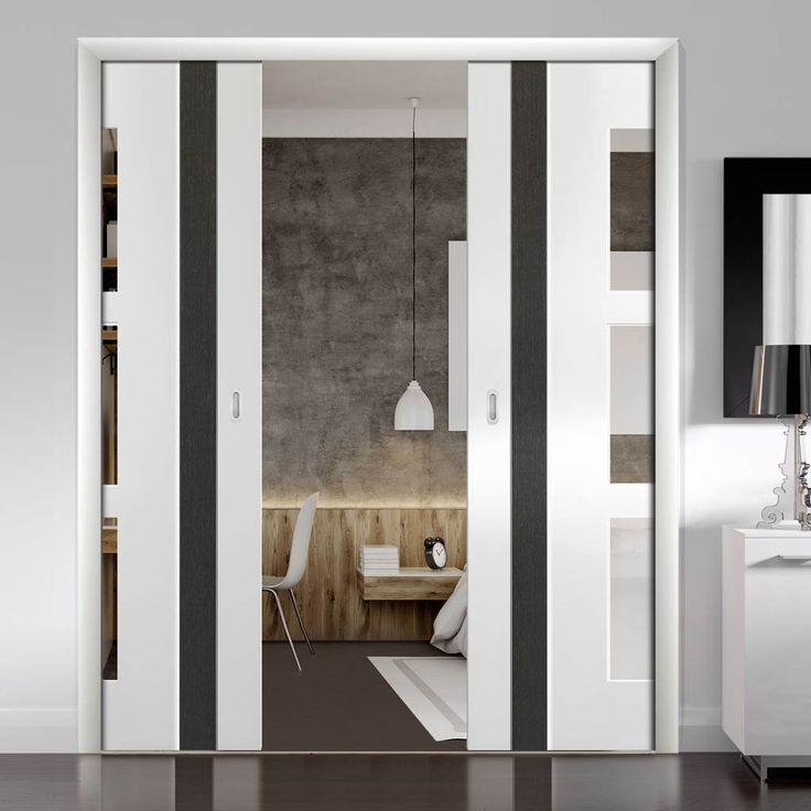 Best 25 double pocket door ideas on pinterest cavity for Pocket door ideas