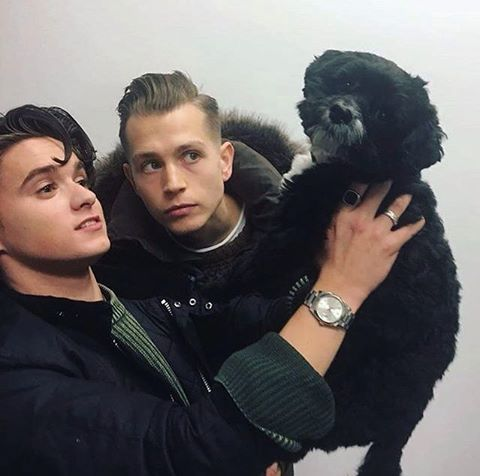 Brad and James yesterday