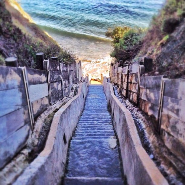 1,000 steps to beautiful Santa Barbara