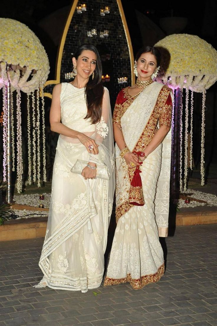Dolls in #sarees!! #Karishma and #Urmila are looking divine, nymph like and…