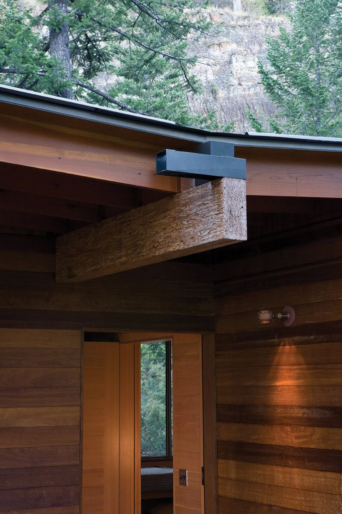 Image 16 of 20 from gallery of Cabin on Flathead Lake / Andersson Wise Architects. Photograph by Art Gray
