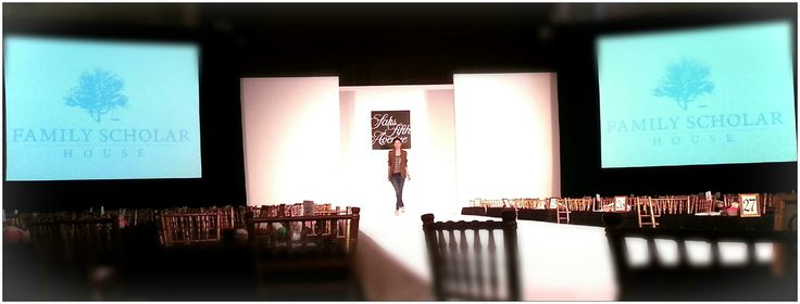 The Grand Ballroom is also a great location for a Fashion Show. Family Scholar House Fashion Show Event 2014