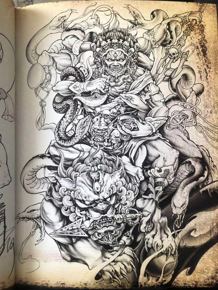 阿修罗纹身_收藏到 阿修罗纹身