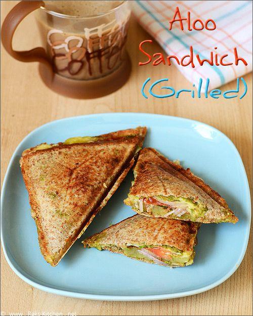 aloo-sandwich-toast by Raks anand, via Flickr from Rakskitchen.net