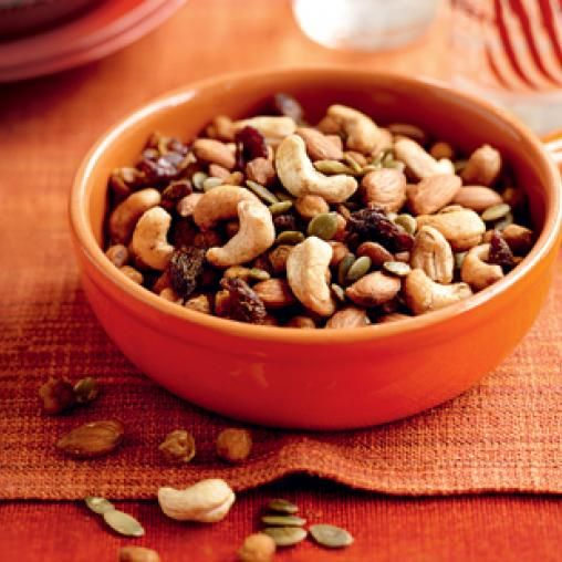 Chickpea trail mix