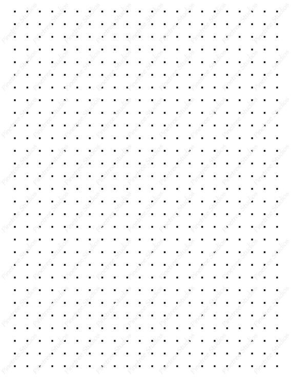 Square Dot Grids For Drawing Patterns More Digital Download Etsy In 2021 Grid Paper Printable Bullet Journal Paper Dots