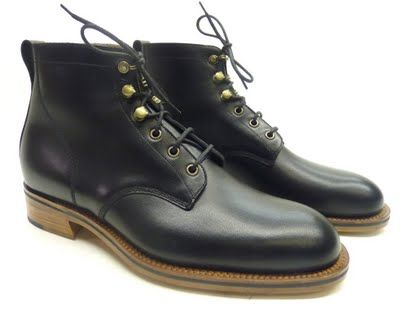 Derby boot by Alfred Sargent  http://www.theshoesnobblog.com/