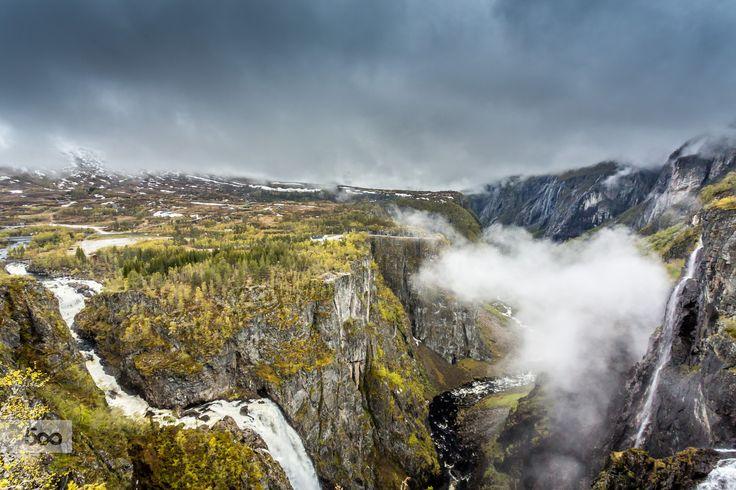 Vøringsfossen Waterfall III by Paulo Costa on 500px