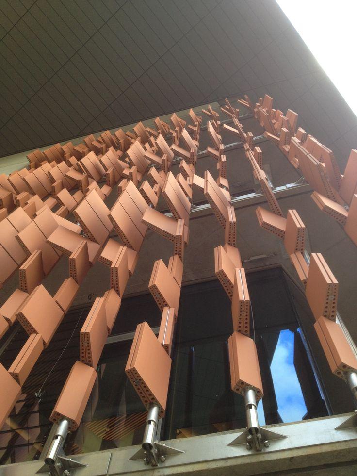 Advanced Engineering Building, The University of Queensland - Shildan Terracotta Rainscreen Facade