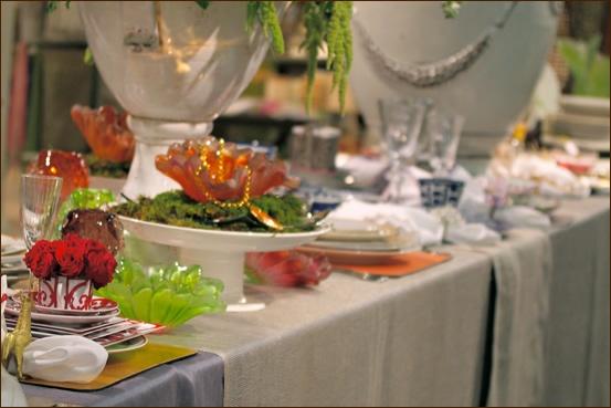 Amanda brisbane glass among hermes china dining and