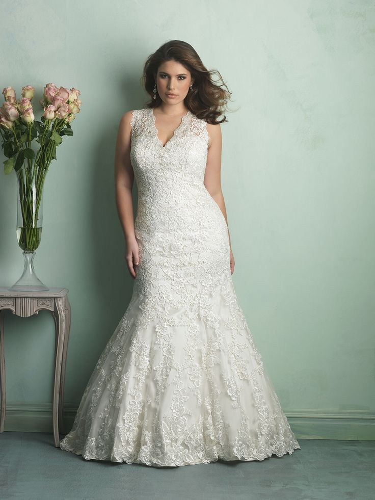 Fishtail Style Gowns Flatter A Curvy Figure