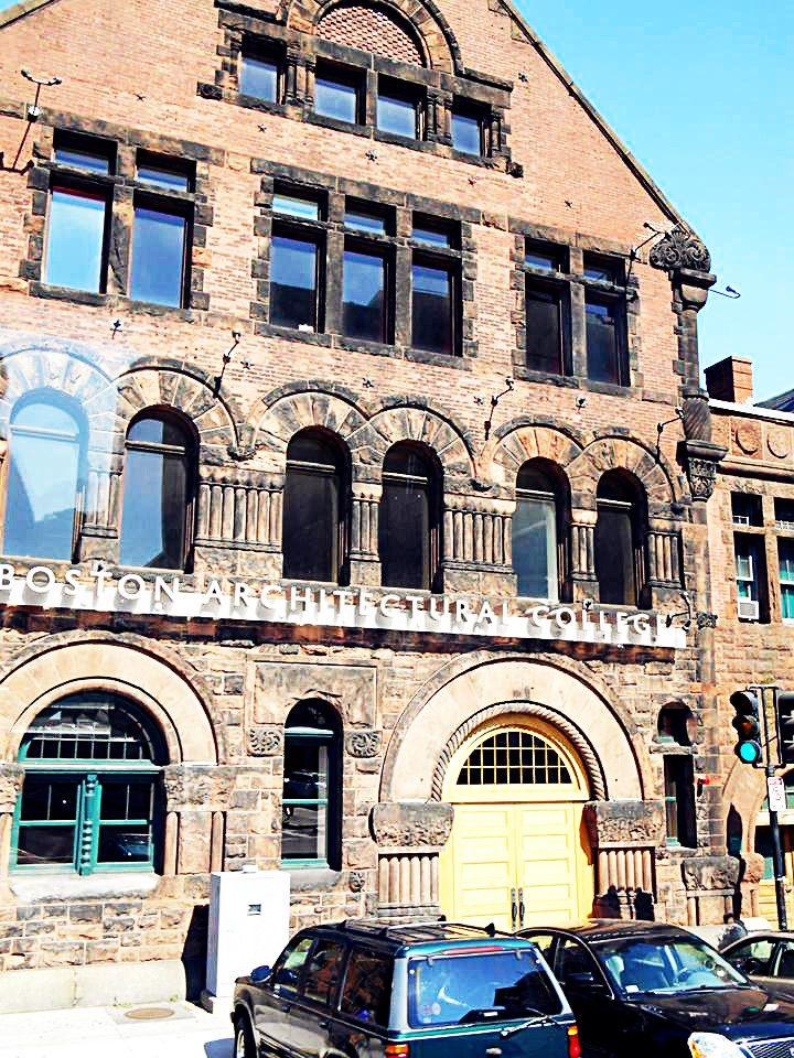 Boston Architectural College. BostonCollegesPlaces