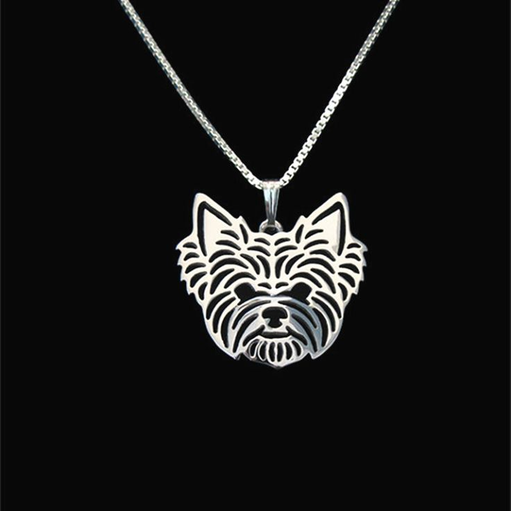 $5.00 Yorkshire Terrier jewelry Silver/Gold Necklaces & Pendants For Women Casual Jewelry Charms Dog Necklace