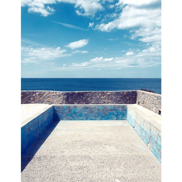 Leaking Pool, from the Souvenir seriesPrinted on photographic paper, lustre finish.