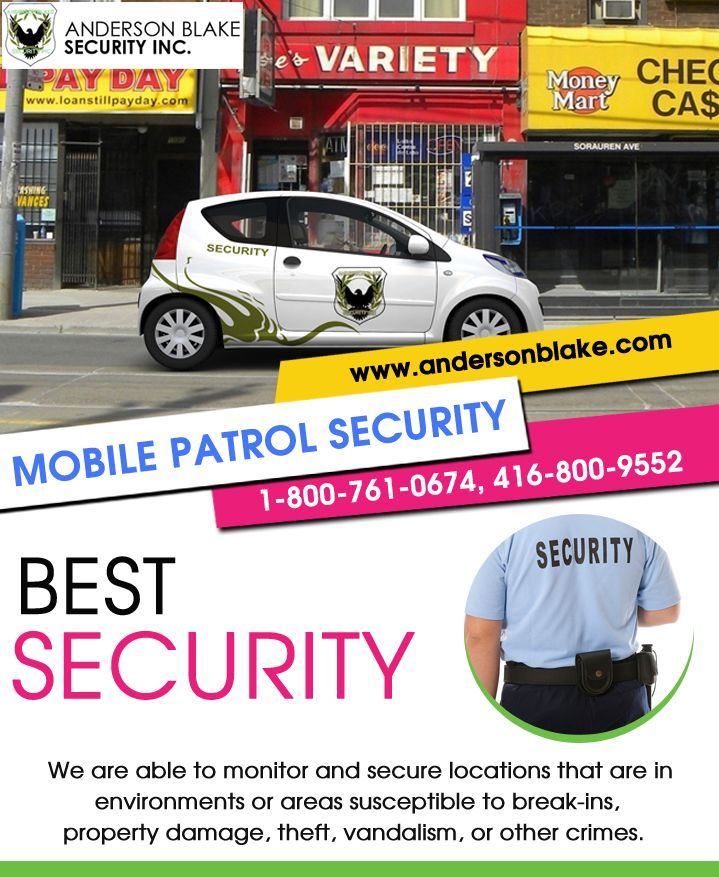 #Mobile_security_services #Mobile_security_services_Brampton Call at: 1-800-761-0674 and 416-800-9552 Visit here:http://www.andersonblake.com/mobile-patrol-security-services-brampton.html