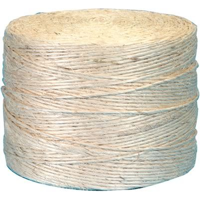 Sisal Twine 1-Ply  and burlap website  (also has burlap ribbon)