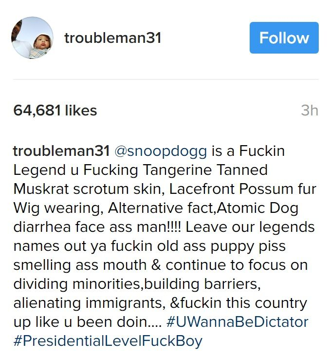 Trump Just Attacked Snoop Dogg. Rapper T.I.'s Response Is EPIC
