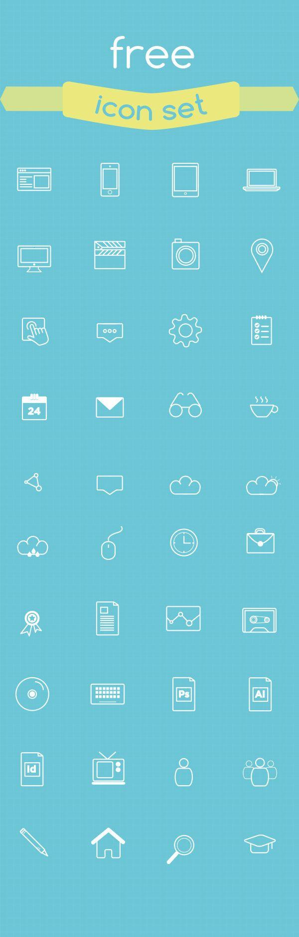 PAGE - Free Icon Set