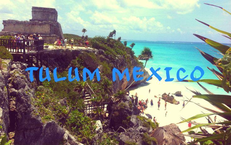 Le rovine Maya di Tulum in Messico