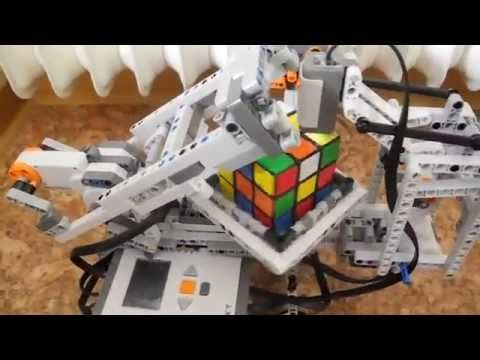 Lego NXT 2.0 Rubik's Cube Solver+Build Instruction HD - YouTube