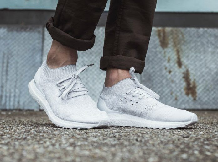 buy online c13b8 59a59 2019 的 2018 Sale Adidas Ultra Boost Uncaged White Shoes ...