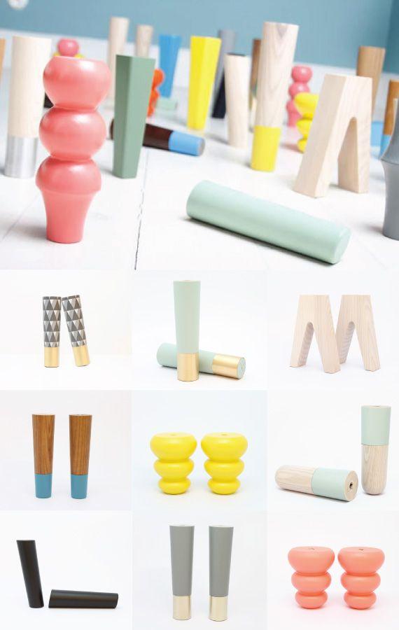 Prettypegs' furniture legs transform any sofa you'd have @bonnieforkner #diy #furniturelegs