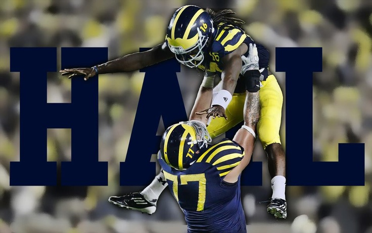 Awesome Michigan Wolverines Wallpaper: 204 Best GO BLUE! Images On Pinterest