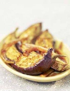 Aubergines au four, au curry et au miel : recette de cuisine proposée par ELLE à Table - Recettes Elle à Table